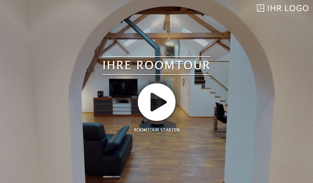 Roomtour - Virtuelle Rundgägne - 360 Touren